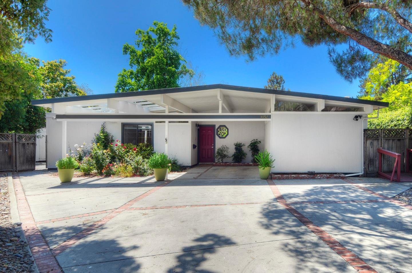 Sold 3452 Cork Oak Way Palo Alto 94303 Eichler Homes
